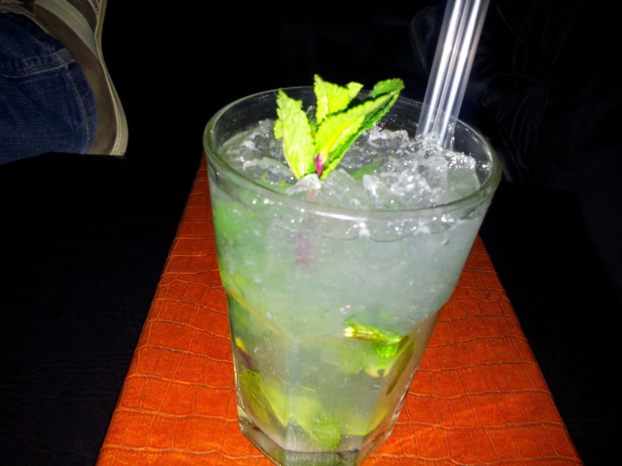 Bild vom Mojito in der California Bounge in Stuttgart