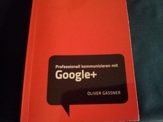 """Bild vom Cover des Buches """"Professionell kommunizieren mit Google+"""" von Oliver Gassner"""