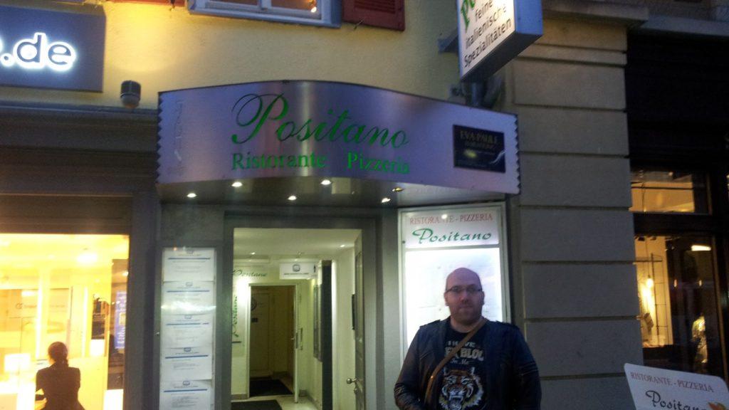 Bild vom Eingang des Ristorante Positano