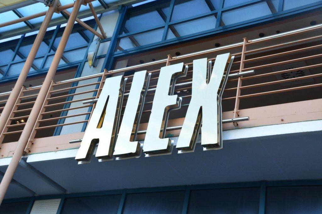 Das Alex von draussen