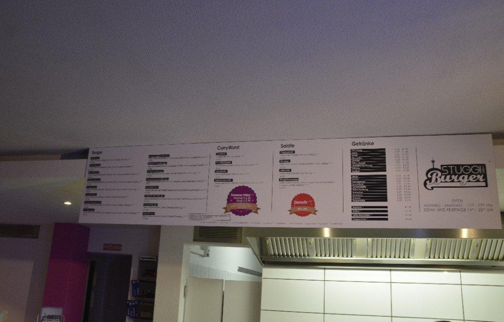 Auswahl im Stuggiburger