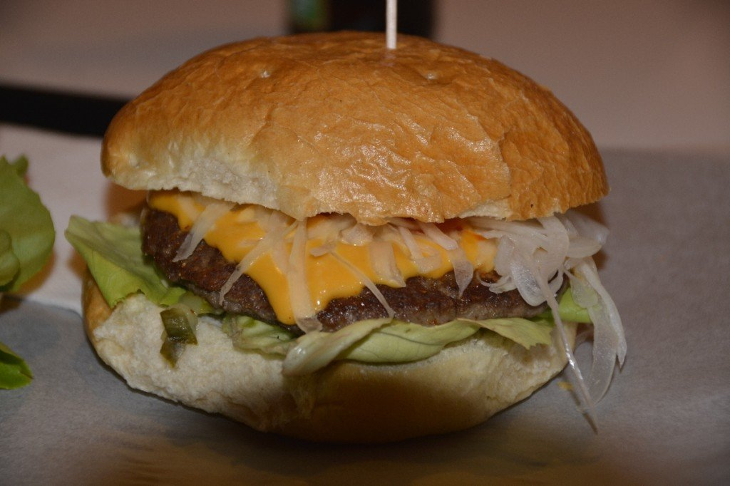 Cheeseburger im Stuggiburger