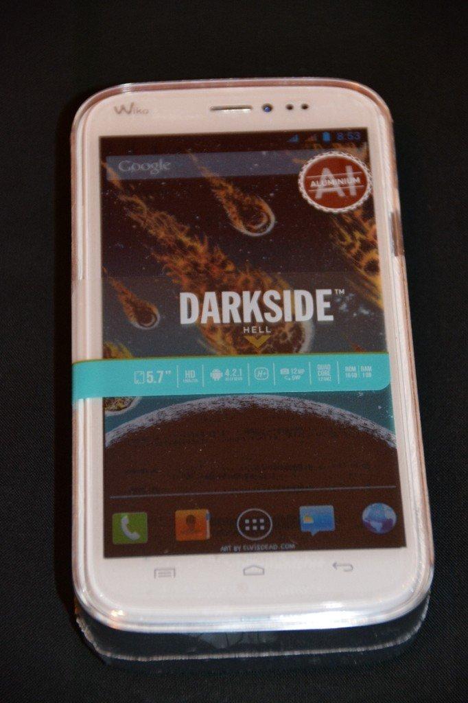 Wiko Darkside - noch eingeschweisst und in Plastikbox