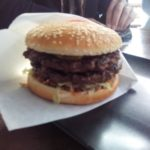 BBQ Burger mit zwei Pattys im WindBurger Berlin