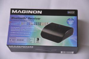Verpackung des Bluetooth Receiver MAGINON BTR1