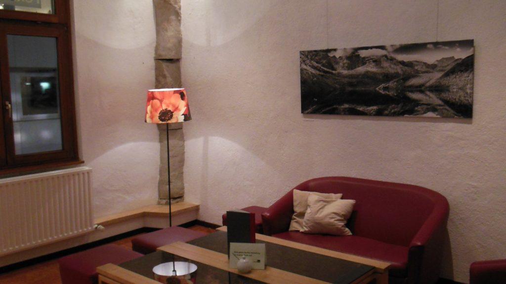 Nebenraum im Cafe des Forum 3 Stuttgart