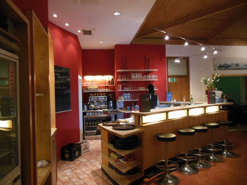 Bar im Cafe des Forum 3 Stuttgart
