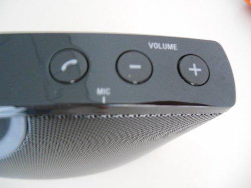 Lautstärkeregler und Telefonbedienung des Wireless Speaker System SRS-BTM8