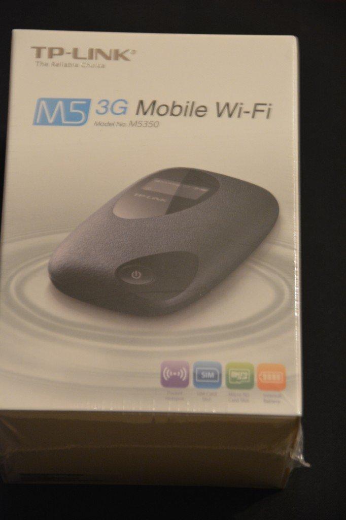 Mobiler WLAN Router M5350 von TP-Link noch verpackt in Klarsichtfolie