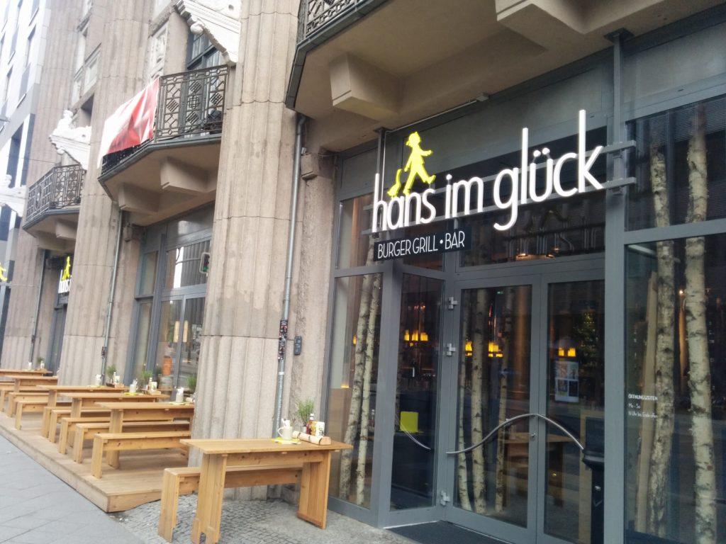 Hans im Glück in der Friedrichstrasse Berlin