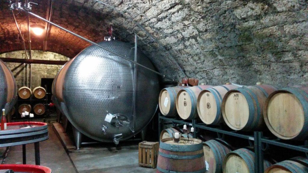 Weinkeller der Weingärtner Markelsheim eG