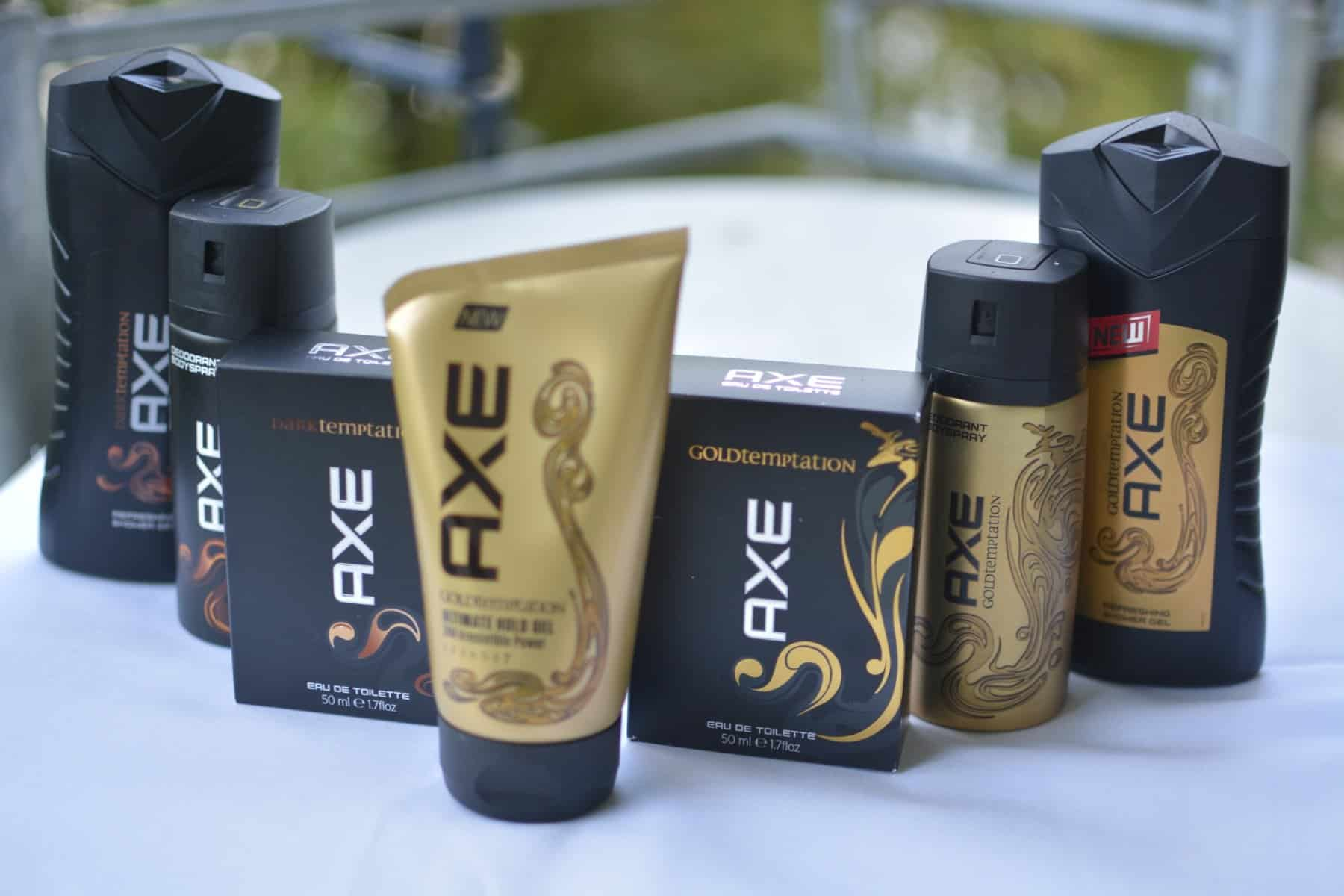 AXE Dark vs. Gold Temptation Testpaket