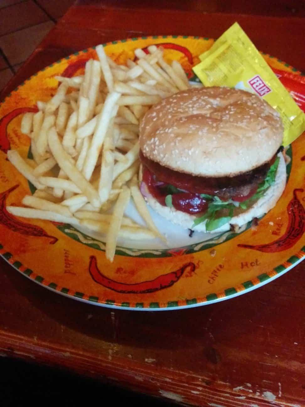 Mexican Chilliburger im Zucchini Kaprun