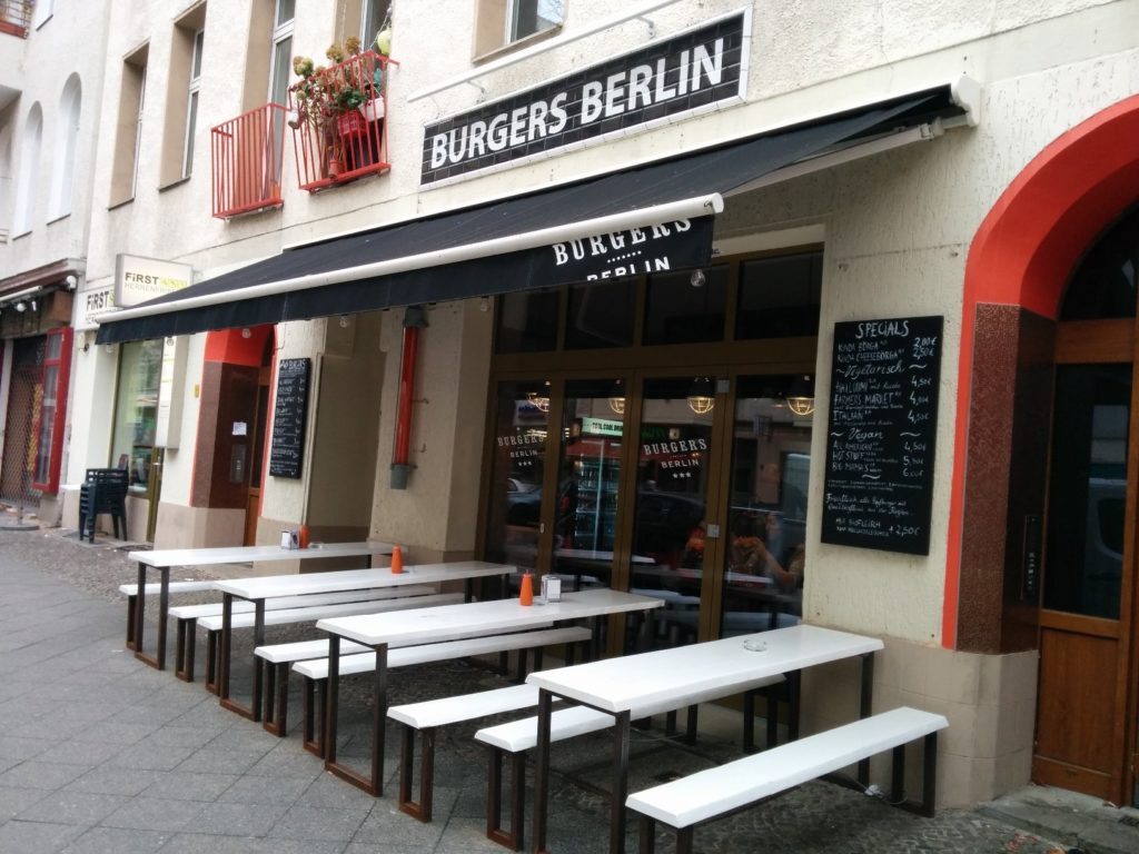 Außenansicht des Burgers in der Pestalozzistrasse Berlin Charlottenburg