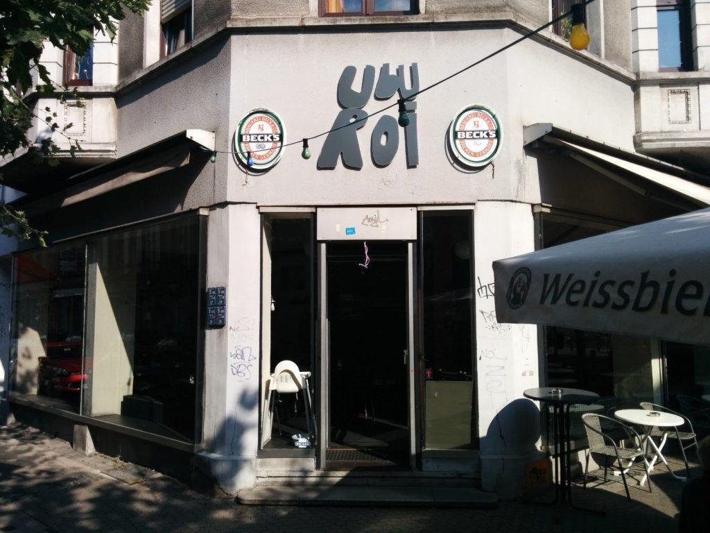 Außenansicht des Ubu Roi in Saarbrücken