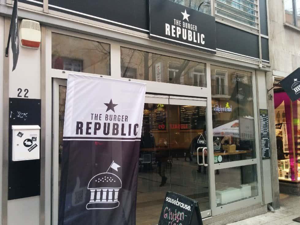 The Burger Republic Stuttgart von außen