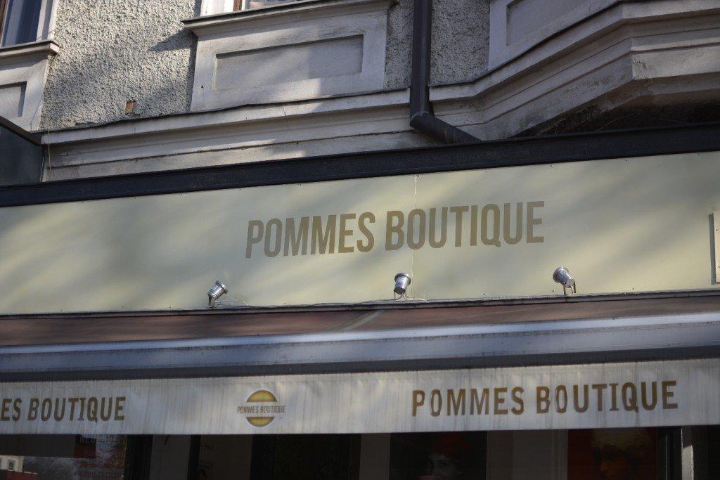Pommes Boutique Mirabellplatz Salzburg