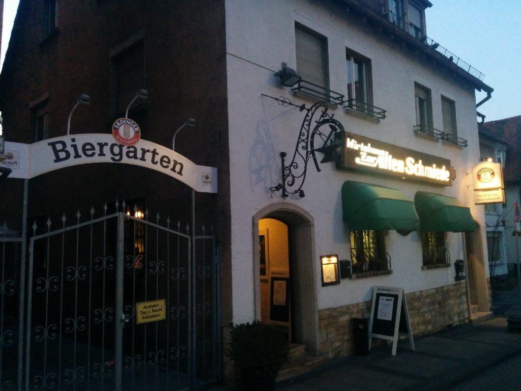 Die alte Schmiede Stuttgart Bad Cannstatt