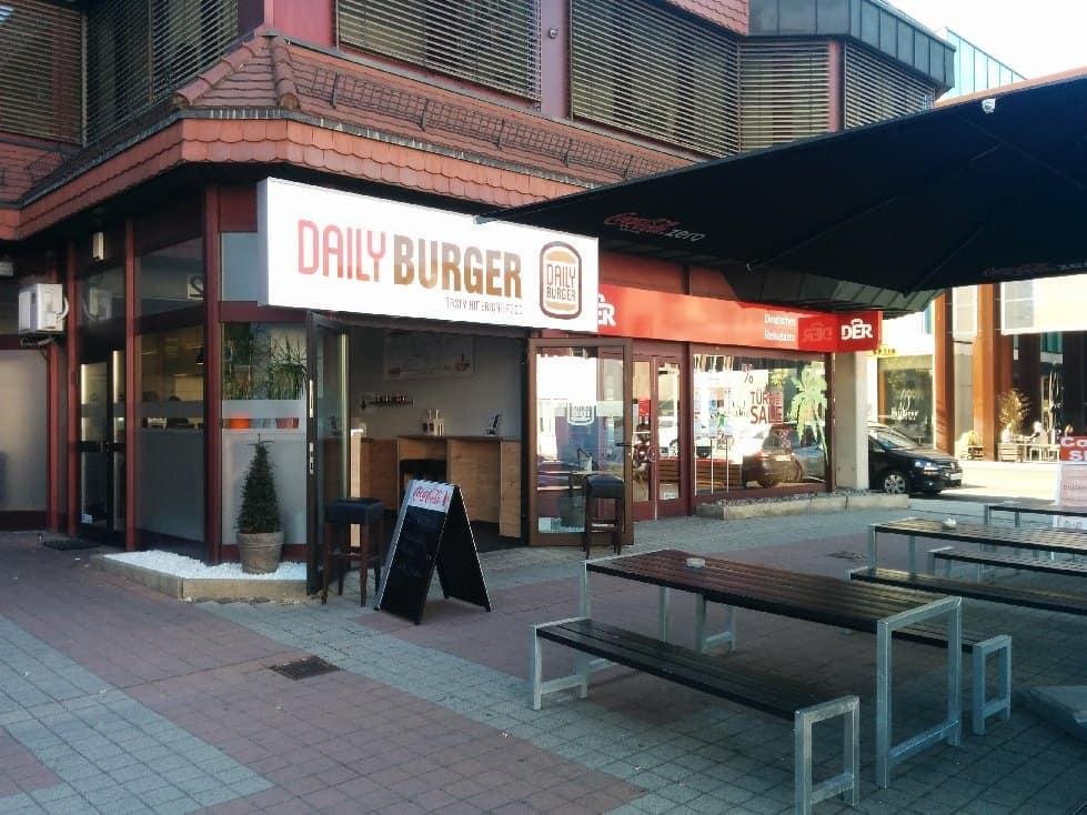 Daily Burger Vaihingen von außen