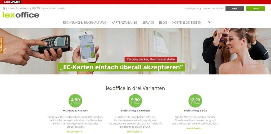 Startseite von Elxoffice