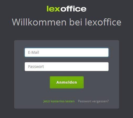 """Anmeldefenster - dahin führt Dich auch der Klick auf """"login"""" auf der Startseite"""