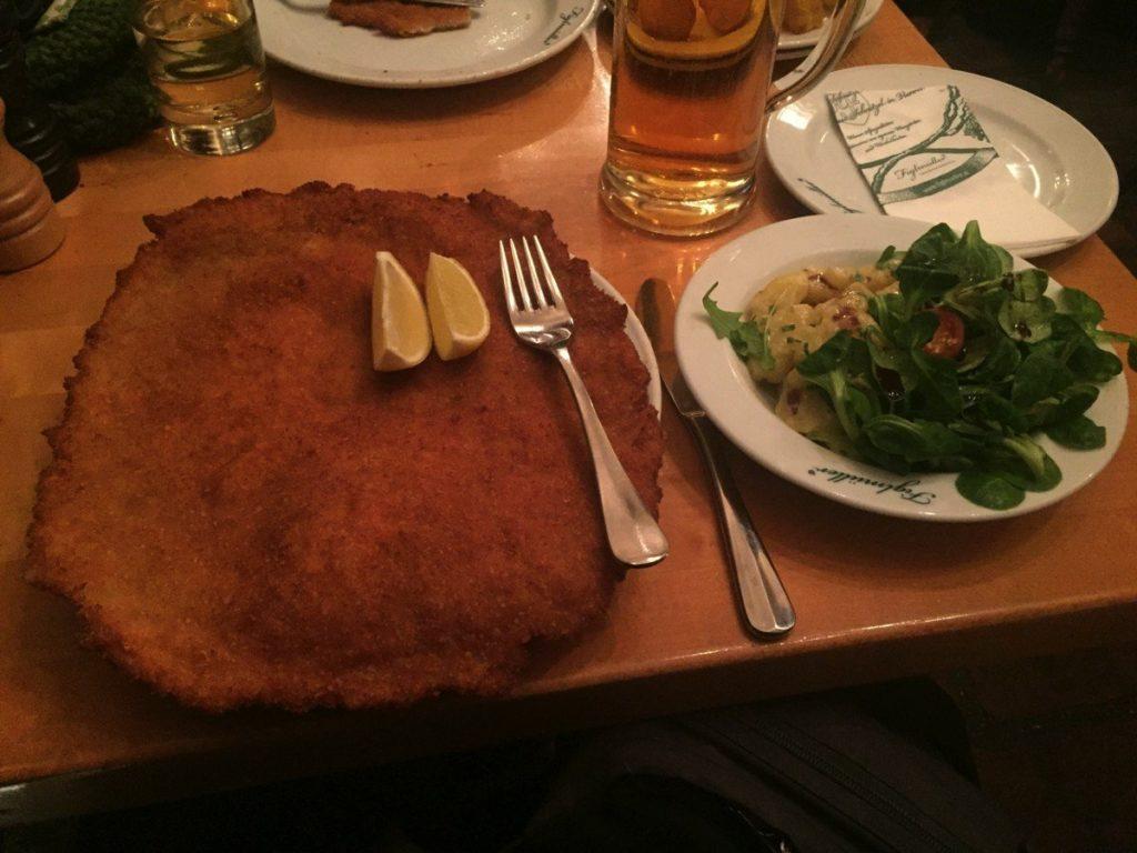 Das Figlmüller Schnitzel in Wien