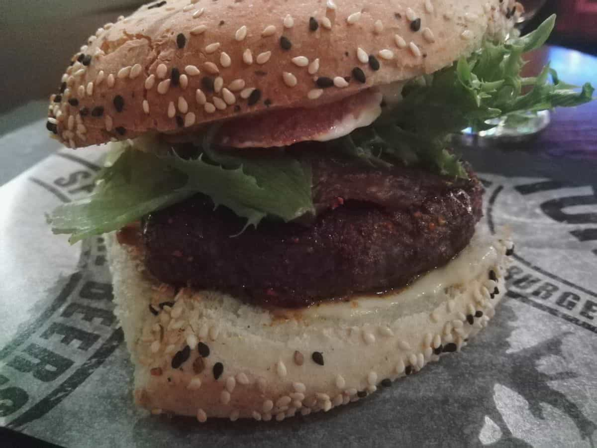 Black 'N Bleu Burger im Stone's Pub Helsinki
