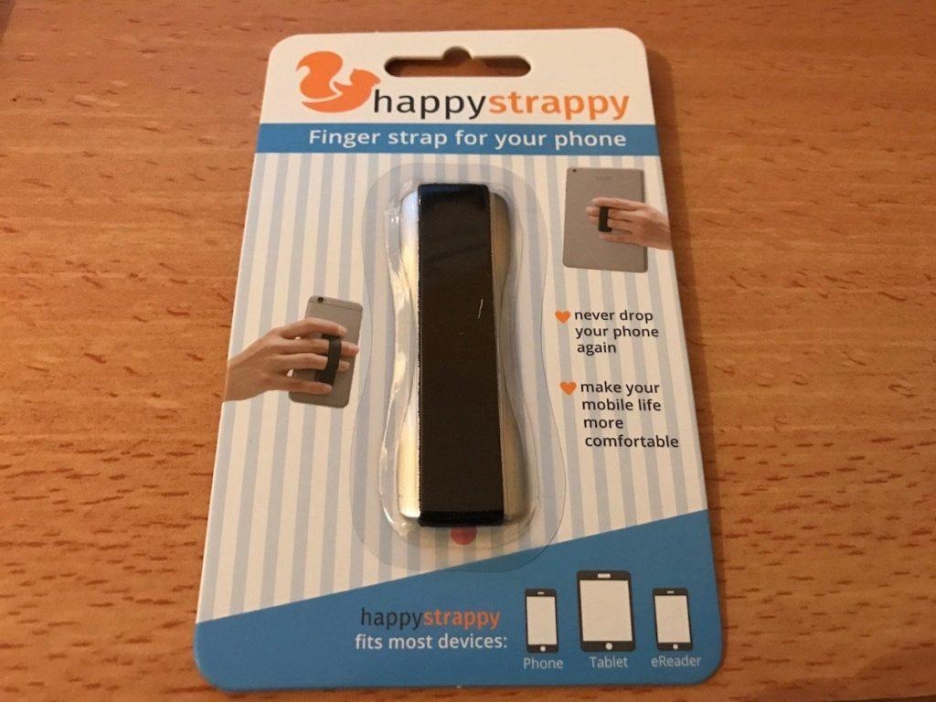 Happystrappy in der Verpackung