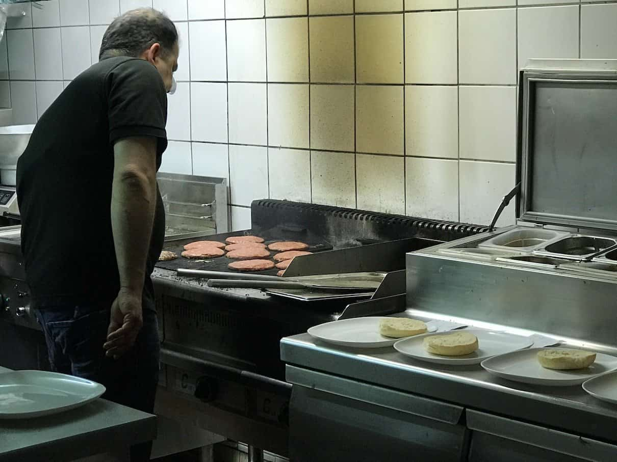 Der Grill im taste my Burger München