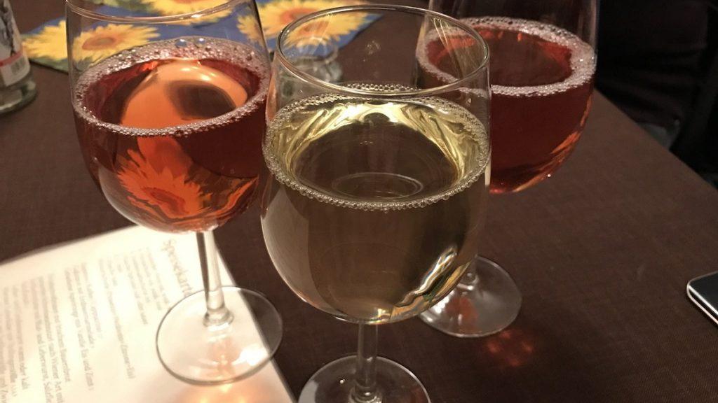 Weisswein und Rosewein im Ulmers