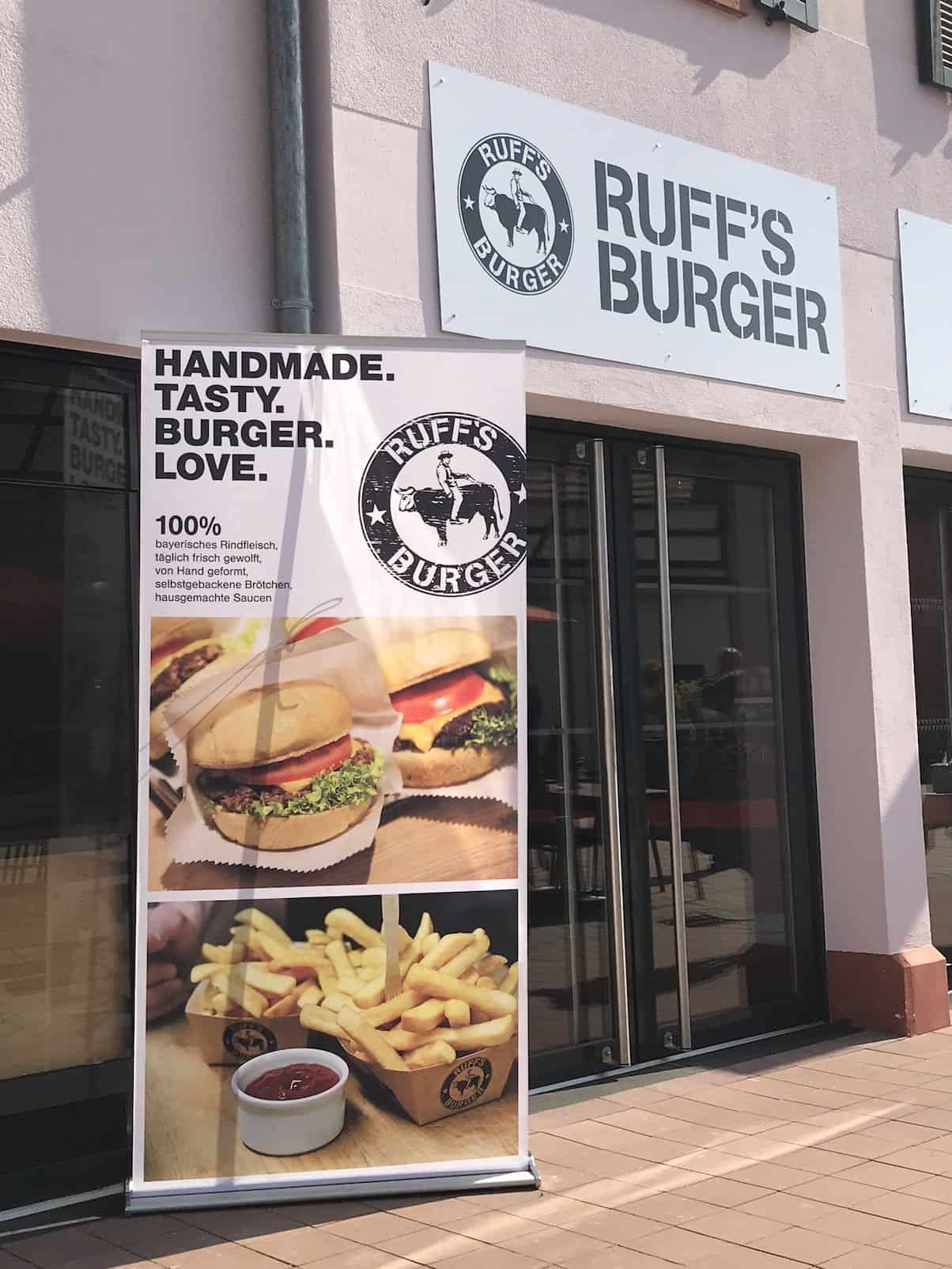 Ruff's Burger im Outlet Roppenheim