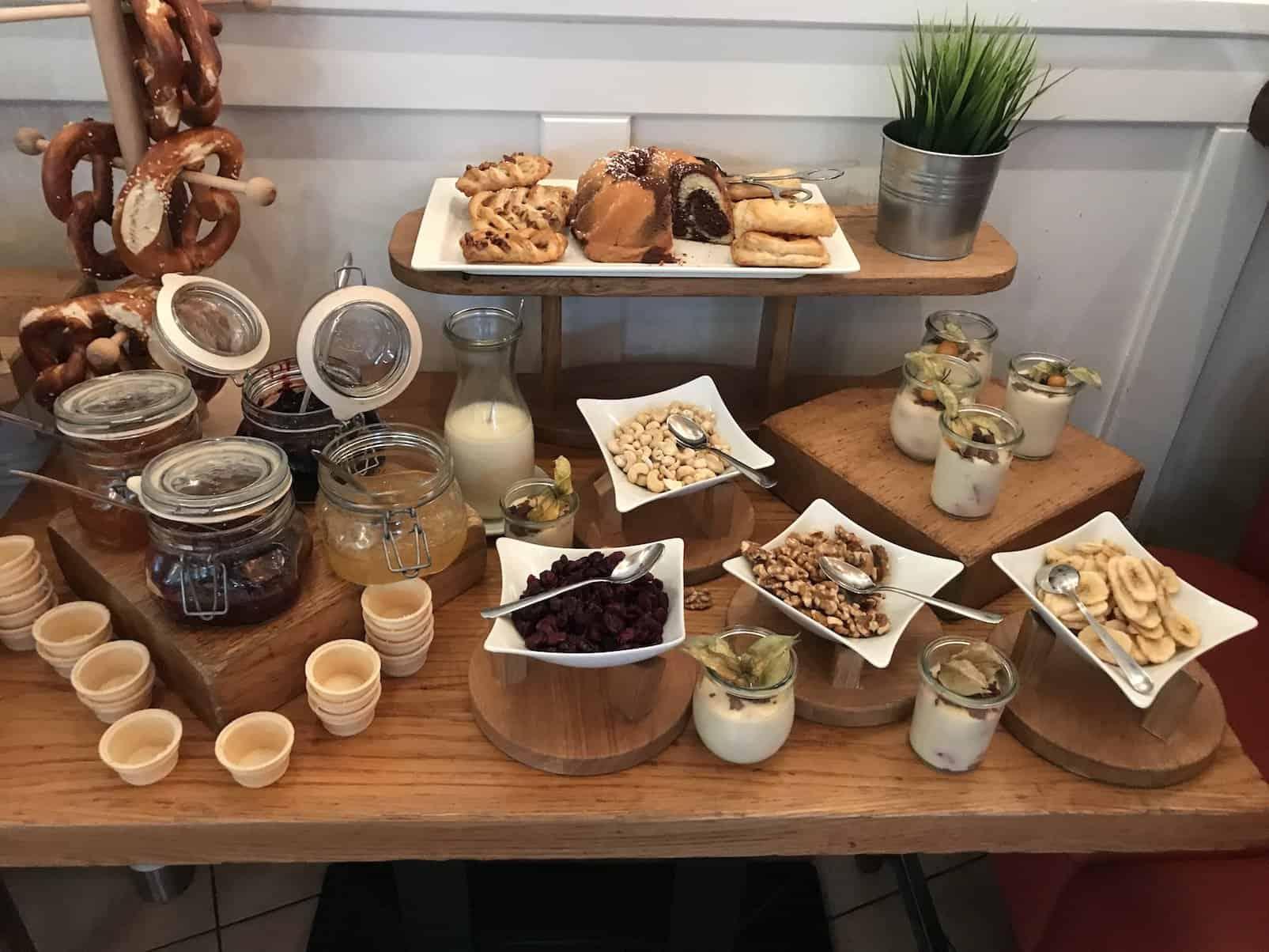 Marmeladen, Nüsse und süsses Zeuchs im Alex Sony Center Berlin