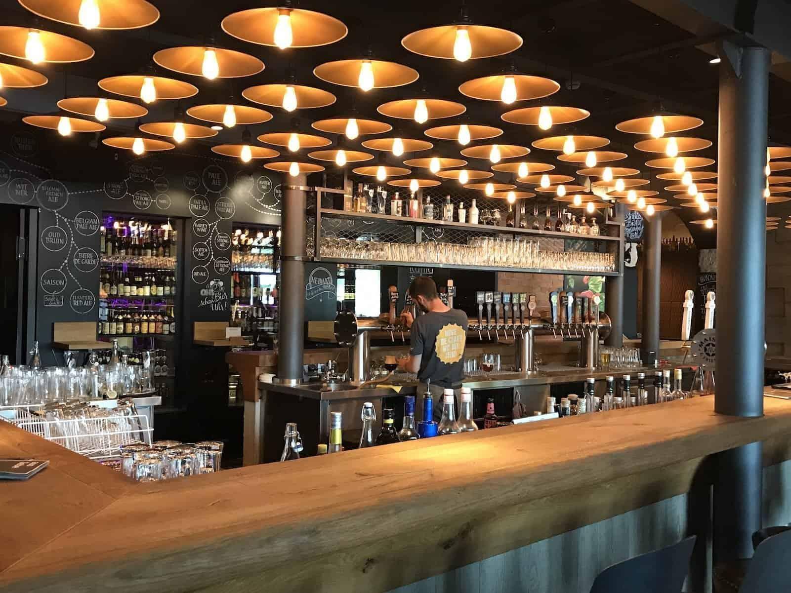 Bar im Liebesbier bei Maisel & Friends Bayreuth