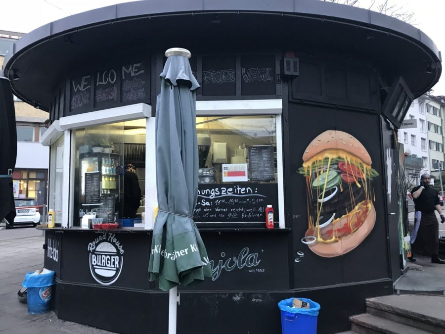 Außenansicht des Round House Burgers