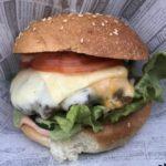 4-Cheeseburger im Round House Burger Stuttgart