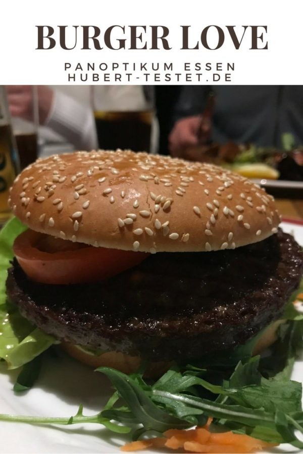 Burger im Panoptikum Essen