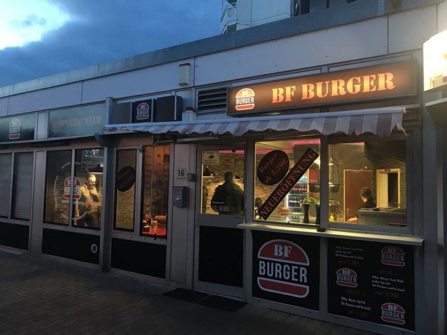 BF Burger Kornwestheim von außen