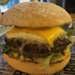 4 Cheese Burger im Burger Brothers Essen