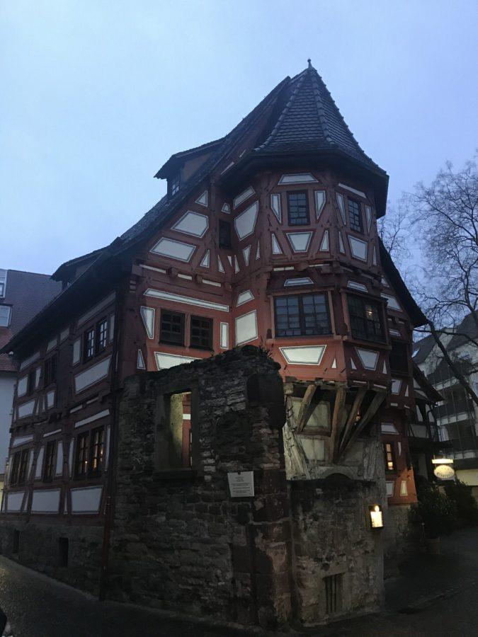 Weinstube Klösterle im ältesten noch stehenden Haus Stuttgarts