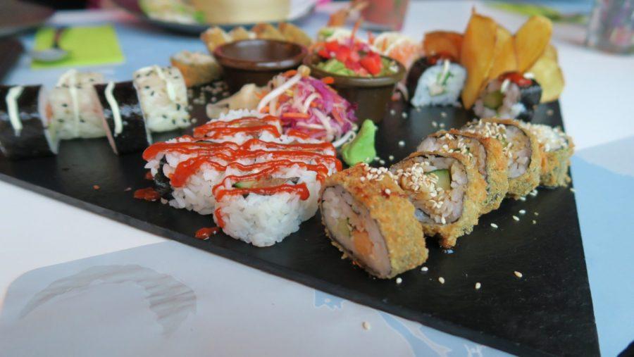 Sushi for TUU im GinYuu Stuttgart