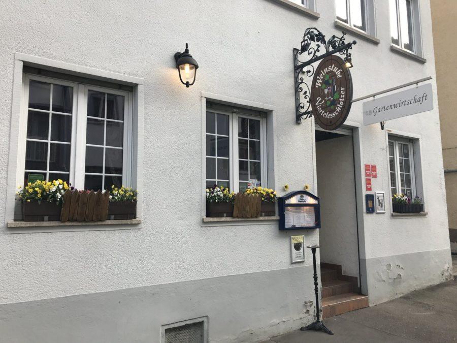 Die Weinstube Viertelesschlotzer im Stuttgarter Westen