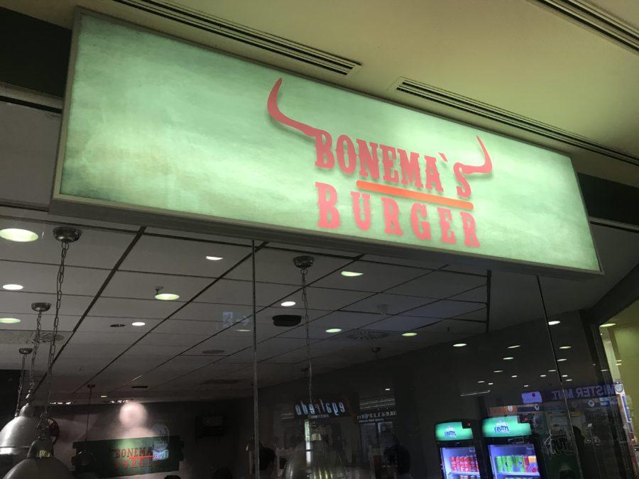 Bonema's Burger von außen in Waiblingen im emsPark Einkaufscenter