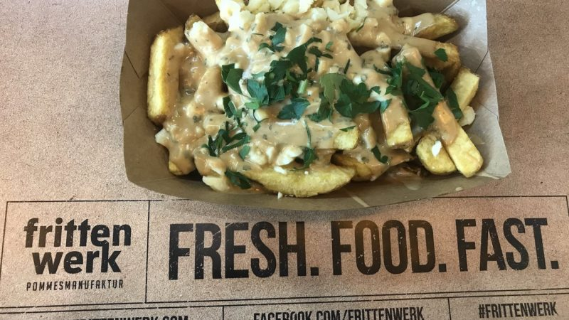 Classic Quebec Poutine mit Hausfritten