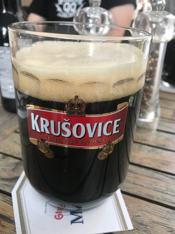 Dunkels Bier: Krusovice im Arche Stuttgart