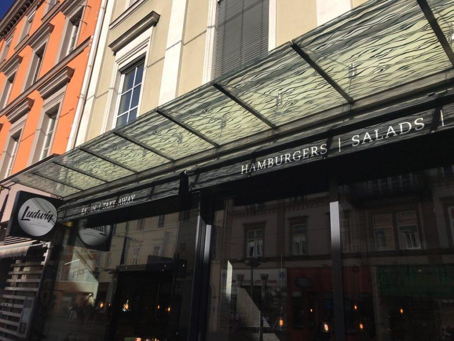 Das Ludwig Burger Restaurant in Innsbruck von außen
