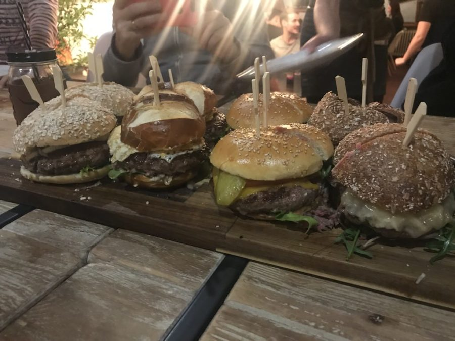 Burger Auswahl an diesem Abend zu Burger all you can eat in der grill.bar by Benjamin Hehn