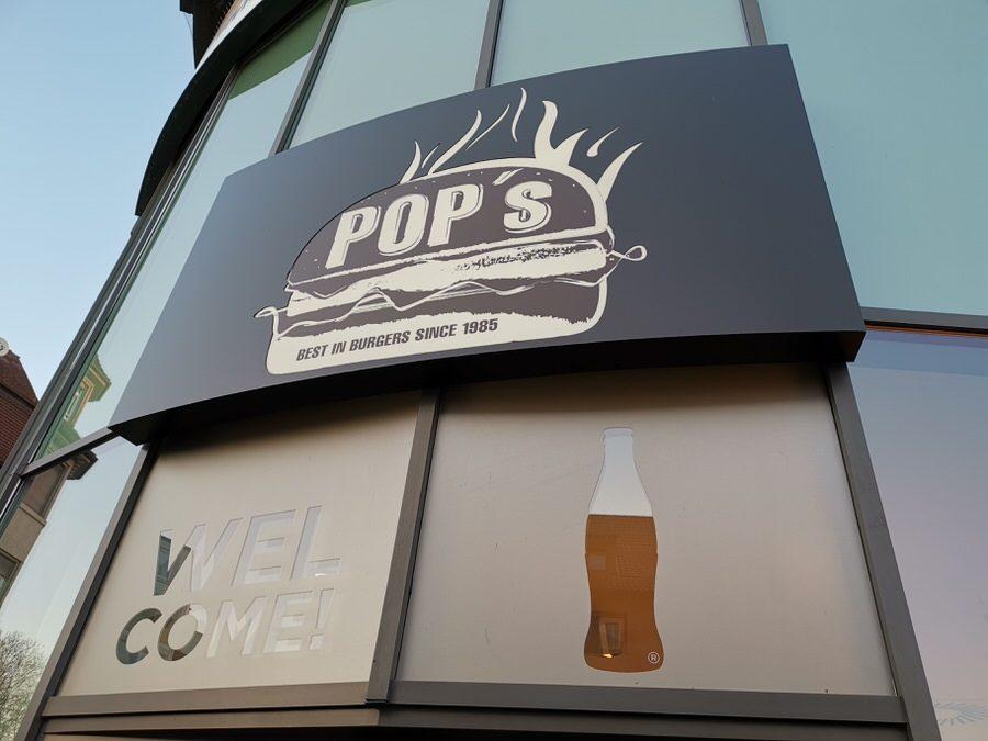 Das POP's Burger von außen