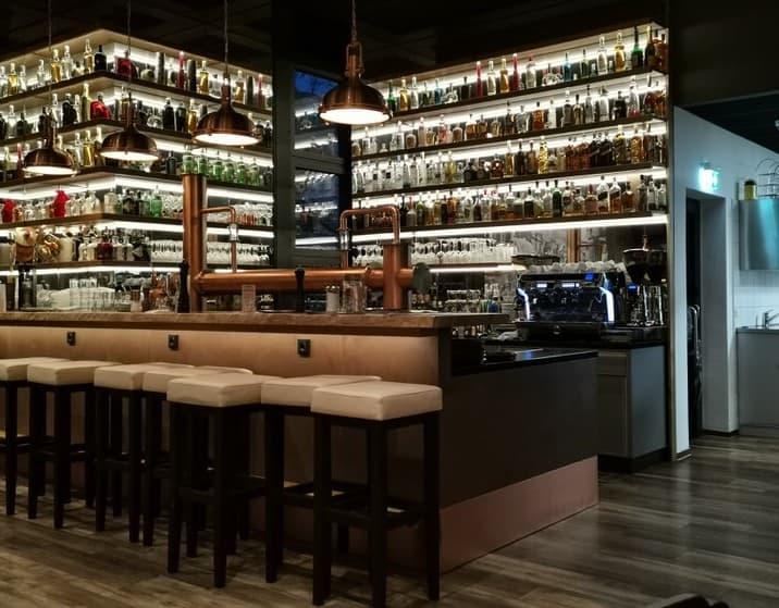 Die neue Bar im Trollinger Stuttgart, wo früher eine Nische war