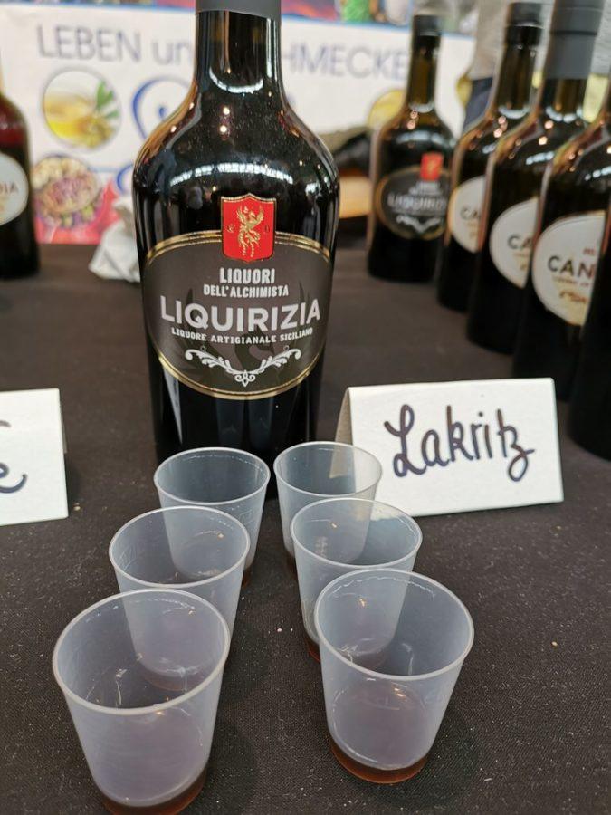 Lakritzlikör aus Sizilien auf der Slow Food 2019