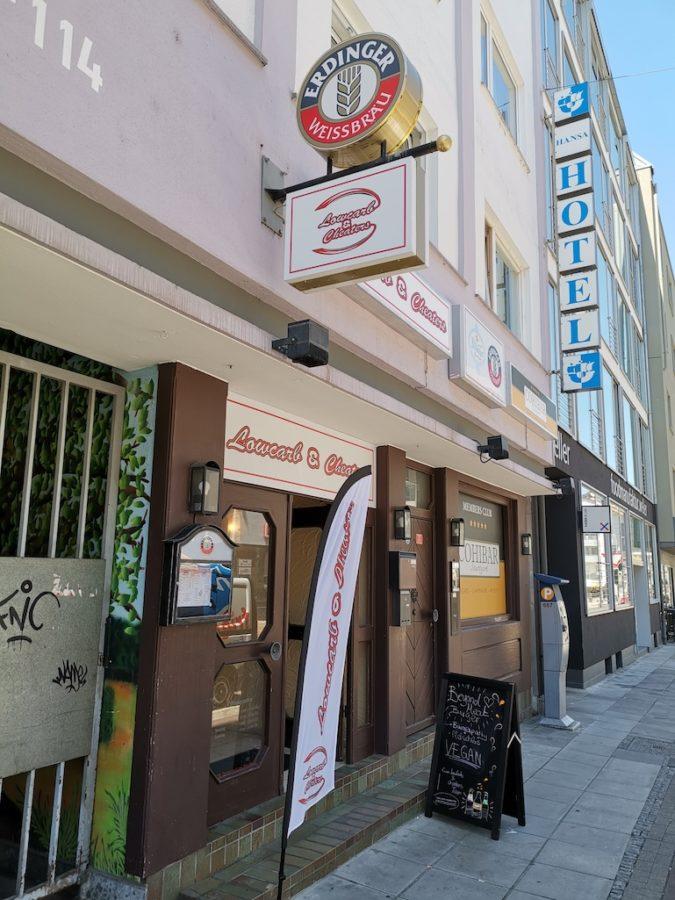 Das LowCarb & Cheaters in der Silberburgstrasse Stuttgart